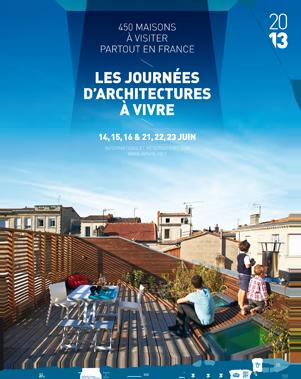 13e ÉDITION DES JOURNÉES D'ARCHITECTURES À VIVRE !